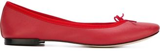 Repetto contrast trim ballerinas $295 thestylecure.com