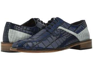 Stacy Adams Triolo Croc Lizard Print Oxford