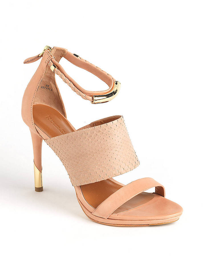 Rachel Roy Pavla Leather Sandals