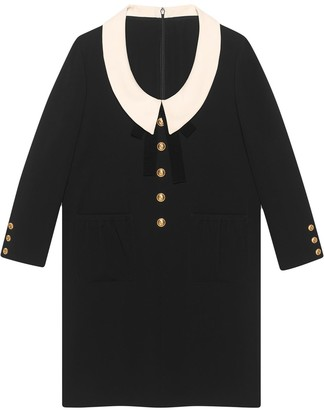 Gucci Wool and silk dress