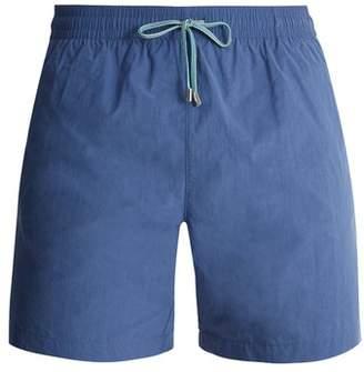 Stella McCartney Straight Leg Swim Shorts - Mens - Light Blue