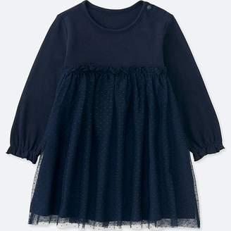 Uniqlo Toddler Long-sleeve Tulle Dress