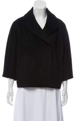Les Copains Double-Breasted Wool Coat