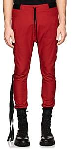 Taverniti So Ben Unravel Project BEN UNRAVEL PROJECT MEN'S COTTON DROP-RISE JOGGER PANTS