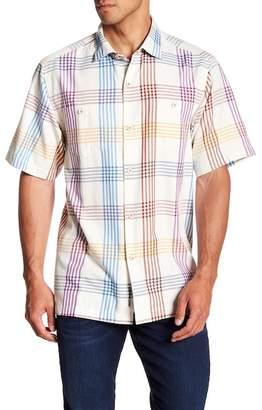 Tommy Bahama Mo' Rockin' Plaid Original Fit Short Sleeve Shirt