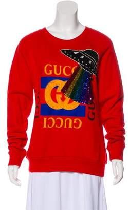 Gucci 2017 UFO Sweatshirt