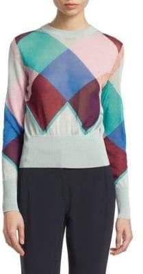 Emporio Armani Gingham Sweater