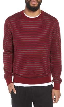 Vince Stripe Crewneck Wool & Cashmere Sweater