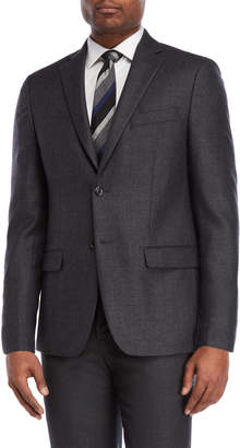 Lauren Ralph Lauren Charcoal Heavy Twill Sport Coat
