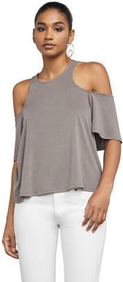 BCBGMAXAZRIA Kelsey Cold-Shoulder Top