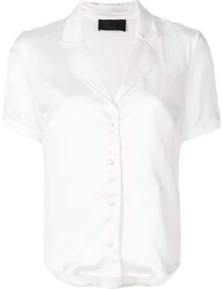 RtA open collar shirt