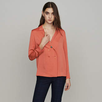 Maje Blazer-style blouse