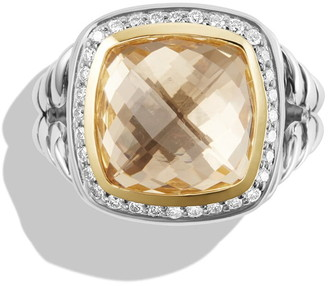 David Yurman 'Albion' Ring with Diamonds and Gold
