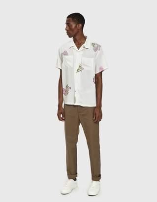 Stussy Hana Printed Shirt in White