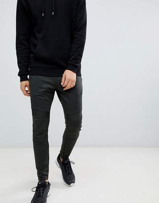 G Star G-Star deconstructed sweatpants in black