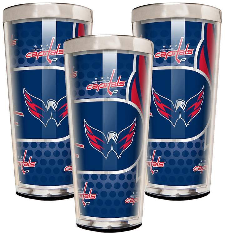 Washington Capitals 3-Piece Shot Glass Set