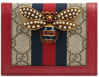 Gucci Queen Margaret GG card case
