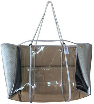 Ah-dorned Ah!Dorned CLEAR PLASTIC TOTE W/ PERFORATED NEOPRENE SIDES