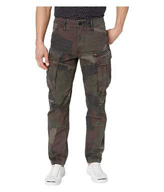 G Star G-Star Rovic Zip 3D Straight Tapered Jeans in Grey/Asfalt All Over
