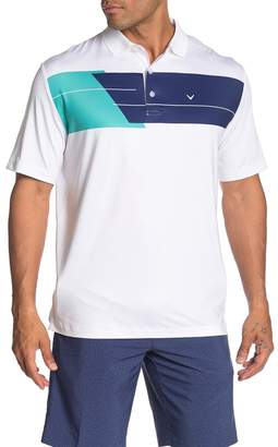 Callaway GOLF Opti-Dry Color Block Chest Polo