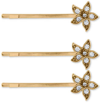 Rachel Roy 3-Pc. Set Crystal Flower Hair Pins