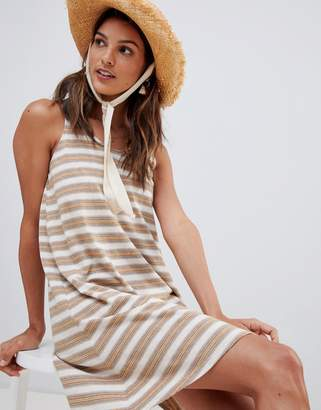 rhythm stripe beach dress