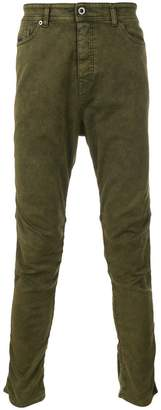 Diesel Black Gold washed effect skinny trousers