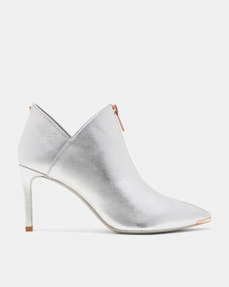 Ted Baker MILLAE Zip-up suede ankle boots