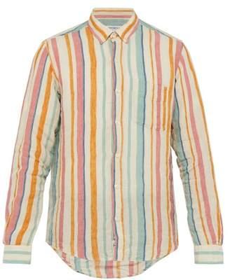 President's Chatham Striped Linen Shirt - Mens - Multi