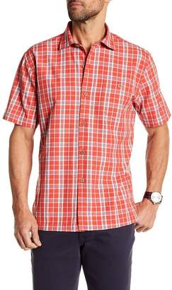 Tommy Bahama Check-O-Lada Short Sleeve Print Shirt