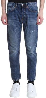 Mauro Grifoni Blue Denim Jeans