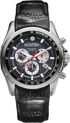 Roamer Men's Chronograph Leather Watch