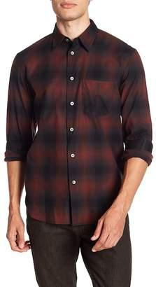 Rag & Bone Beach Buffalo Checkered Classic Fit Shirt
