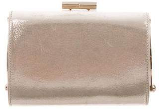 Jimmy Choo Metallic Clutch Bag