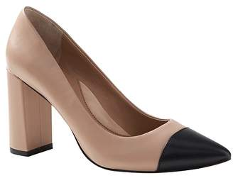 Banana Republic Madison 12-Hour Cap-Toe Pump