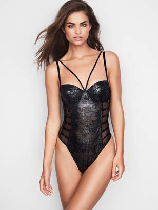 Very Sexy Palm Lace Bodysuit