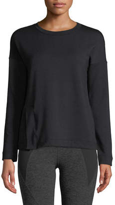 Beyond Yoga Sedona Split-Hem Activewear Sweatshirt