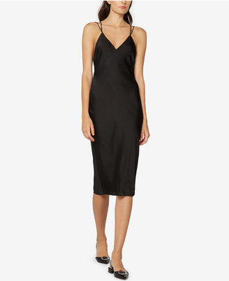 Fame and Partners Criss Cross Slip Dress $199 thestylecure.com