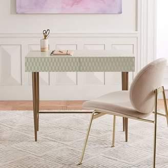 west elm Audrey Mini Desk - Parchment