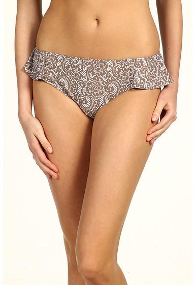 DKNY Lola Lace Peplum Hipster Bikini Bottom