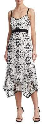 Nanette Lepore Debut Floral Embroidered Dress