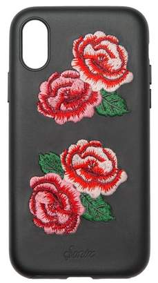 Sonix Embroidered Vegan Leather iPhone X Case