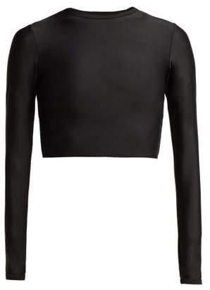 Matteau - The Long Sleeve Sun Tee Swim Top - Womens - Black