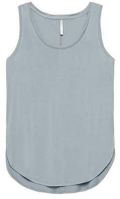 Banana Republic Sandwashed Modal Blend Round-Hem Tank