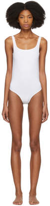 Acne Studios White Willy Swimsuit
