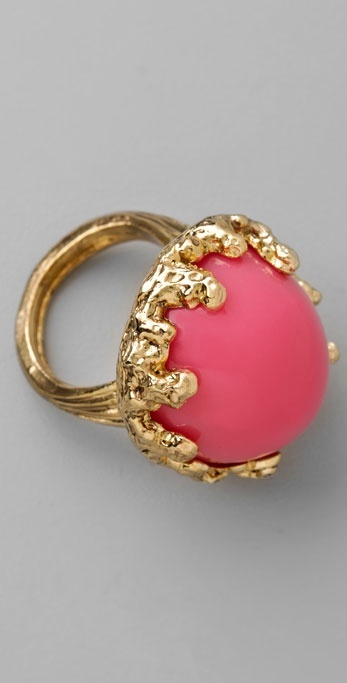 Rachel Leigh Neon Gumball Ring