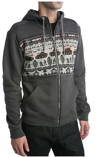 Paul Frank Houghton Fleece Hoodie