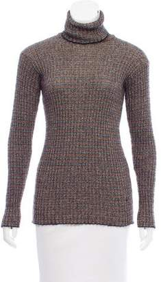 Missoni Long Sleeve Turtleneck Sweater