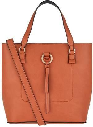 Accessorize Double Bucket Bag Handheld Bag - Orange