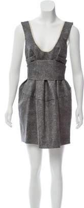 Marni Sleeveless Gathered Dress